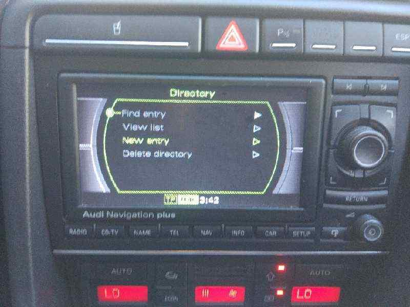 SISTEMA AUDIO / RADIO CD AUDI A4 AVANT (8E) 2.0 TDI   (140 CV) |   11.04 - 12.08_img_0