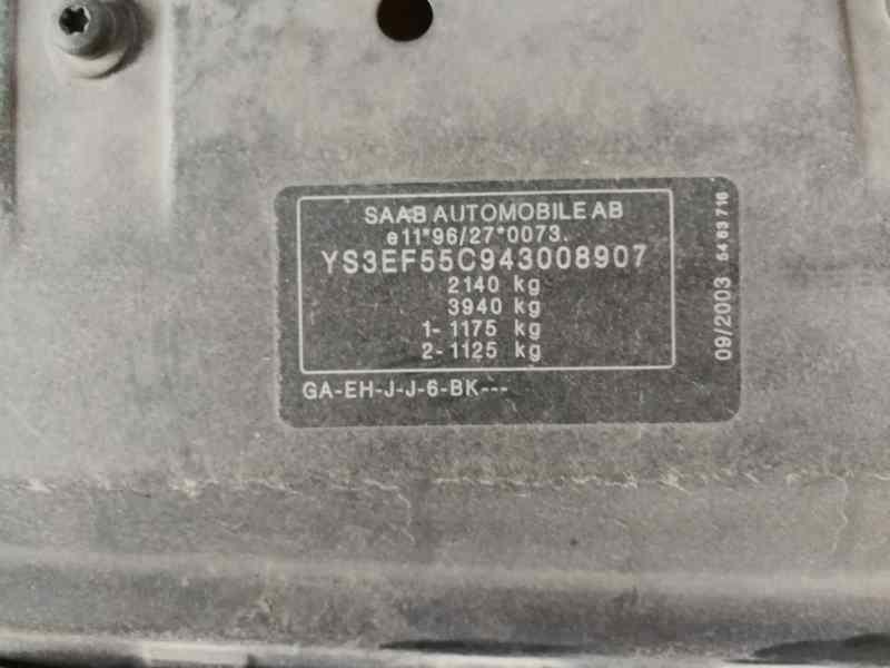 TURBOCOMPRESOR SAAB 9-5 FAMILIAR 2.0 T ARC   (150 CV) |   07.01 - 12.04_img_4