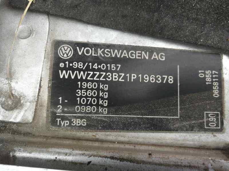 VOLKSWAGEN PASSAT BERLINA (3B3) Comfortline  1.9 TDI (131 CV)     10.00 - 12.04_img_2