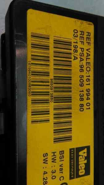 CAJA RELES / FUSIBLES CITROEN XSARA BERLINA 1.6i 16V Premier   (109 CV) |   11.00 - 12.05_img_1