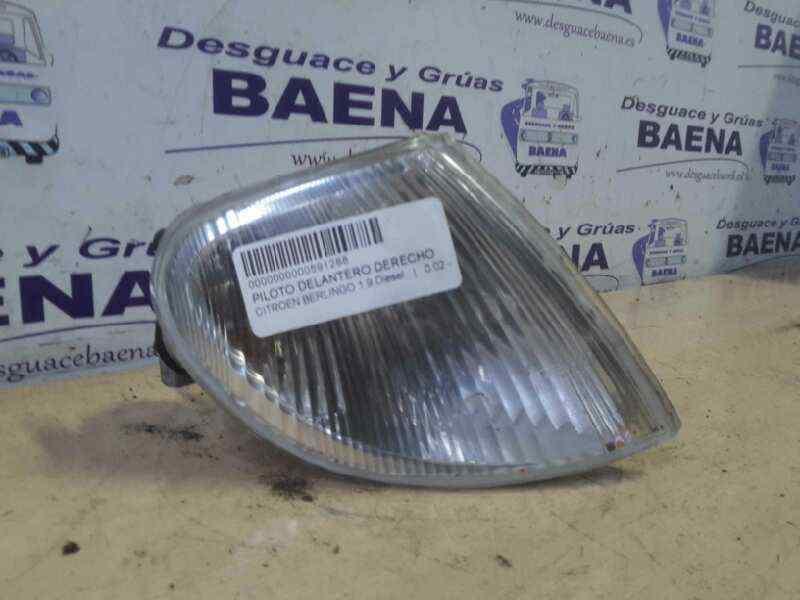 PILOTO DELANTERO DERECHO CITROEN BERLINGO 1.9 Diesel   (69 CV) |   0.02 - ..._img_1