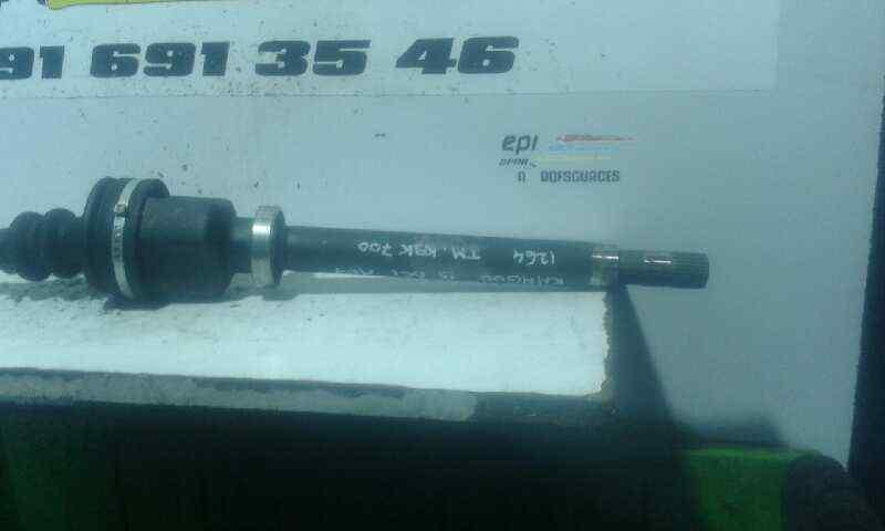 TRANSMISION DELANTERA DERECHA RENAULT KANGOO (F/KC0) Alize  1.5 dCi Diesel (65 CV) |   03.03 - 12.07_img_1