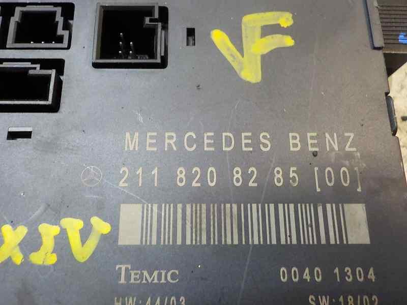 MODULO ELECTRONICO MERCEDES CLASE E (W211) BERLINA E 350 (211.056)  3.5 V6 CAT (272 CV) |   10.04 - 12.09_img_3