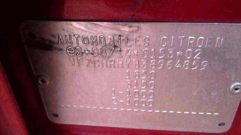 NEUMATICO CITROEN XSARA PICASSO 2.0 HDi CAT (RHY / DW10TD)   (90 CV)     0.99 - ..._img_3