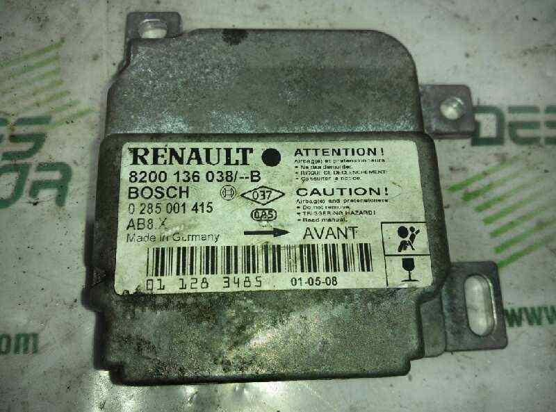 CENTRALITA AIRBAG RENAULT CLIO II FASE II (B/CB0) *   |   0.01 - 0.13_img_0