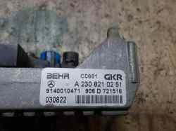 RESISTENCIA CALEFACCION MERCEDES CLASE E (W211) BERLINA E 270 CDI (211.016)  2.7 CDI CAT (177 CV) |   01.02 - 12.05_mini_2