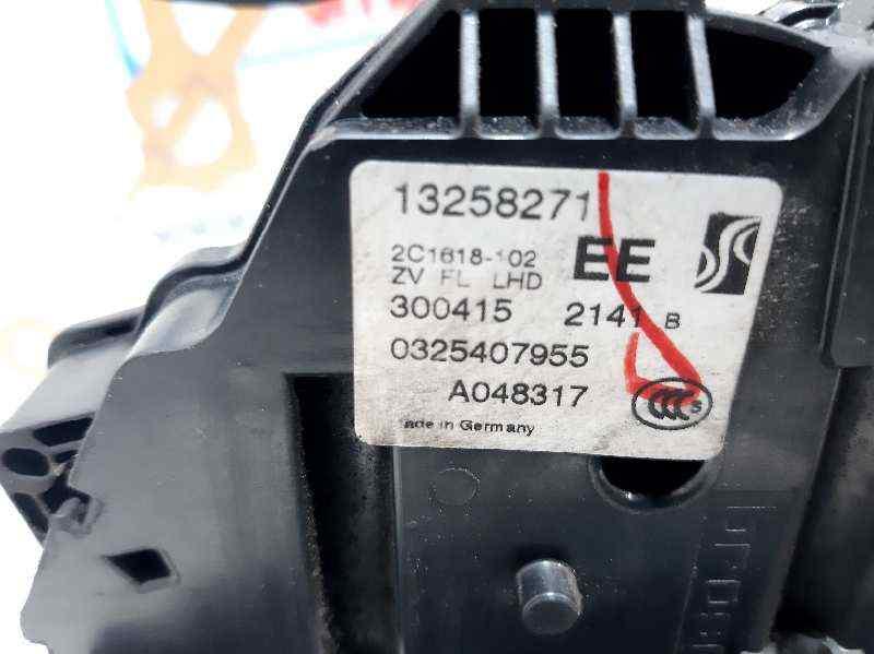 CERRADURA PUERTA DELANTERA IZQUIERDA  OPEL MERIVA B Selective  1.4 16V Turbo (bivalent. Gasolina / LPG) (120 CV) |   01.12 - 12.15_img_1