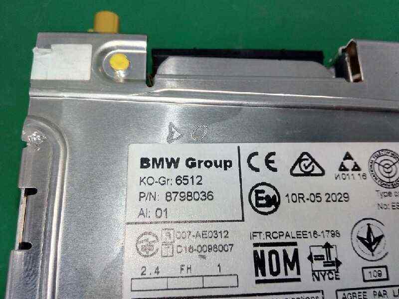 SISTEMA NAVEGACION GPS BMW BAUREIHE 3 TOURING  (F31) 318d  2.0 16V Turbodiesel (150 CV)     0.15 - ..._img_2