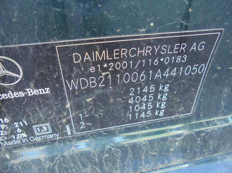 MERCEDES CLASE E (W211) BERLINA E 220 CDI (211.006)  2.2 CDI CAT (150 CV) |   01.02 - 12.06_img_3