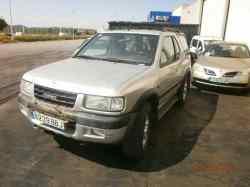 opel frontera b sport  2.2  (136 cv) 1998-2000 Y22SE W0L06B1ZCYV