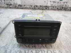 SISTEMA AUDIO / RADIO CD VOLKSWAGEN GOLF V BERLINA (1K1) Conceptline (E)  1.6  (102 CV) |   0.03 - ..._mini_0