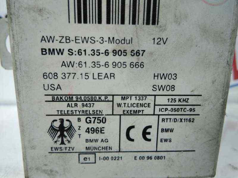 CENTRALITA INMOVILIZADOR BMW SERIE X5 (E53) 3.0d   (184 CV) |   04.01 - 12.03_img_1