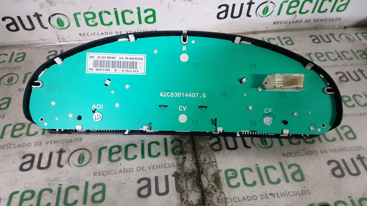 CUADRO INSTRUMENTOS PEUGEOT 407 SR Confort  1.8 16V CAT (116 CV)     05.04 - 12.05_img_1