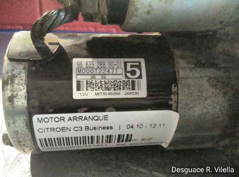 MOTOR ARRANQUE CITROEN C3 Business  1.4 HDi (68 CV) |   04.10 - 12.11_img_3