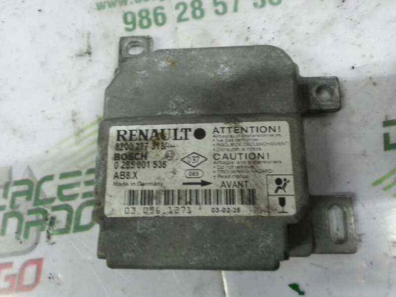 CENTRALITA AIRBAG RENAULT CLIO II FASE II (B/CB0) Authentique  1.2  (58 CV) |   06.01 - 12.08_img_0