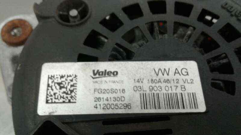 ALTERNADOR AUDI A6 AVANT (4G5) 2.0 TDI   (177 CV) |   05.11 - 12.15_img_3