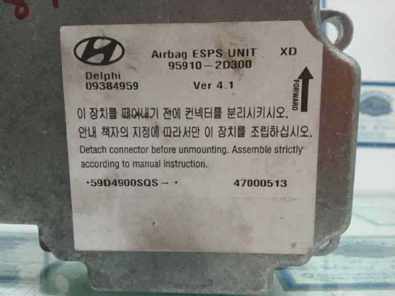 CENTRALITA AIRBAG HYUNDAI ELANTRA (XD) 1.6 GLS (5-ptas.)   (107 CV) |   09.00 - 12.03_img_2