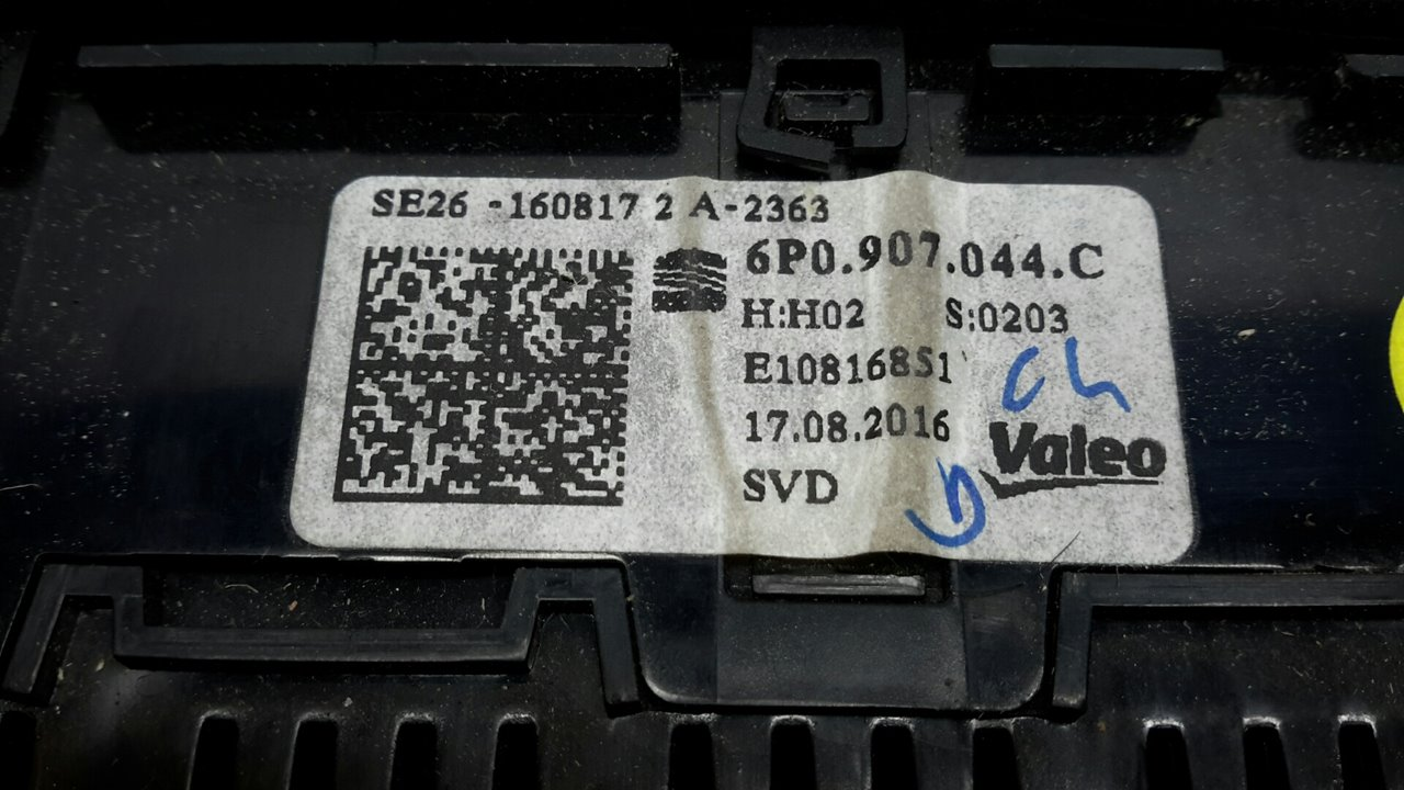 MANDO CLIMATIZADOR SEAT IBIZA SC (6P5) Reference Connect  1.0 TSI (95 CV)     ..._img_5