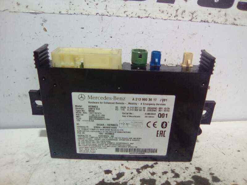 MODULO ELECTRONICO MERCEDES CLASE A (W176) A 220 CDI BlueEfficiency (176.003)  2.1 CDI CAT (170 CV) |   09.12 - 12.15_img_0