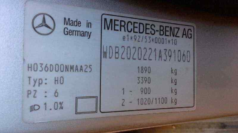 MERCEDES CLASE C (W202) BERLINA 220 (202.022)  2.2 CAT (150 CV) |   05.96 - ..._img_5
