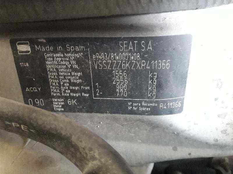 MANETA EXTERIOR DELANTERA IZQUIERDA SEAT IBIZA (6K) Passion  1.9 TDI (90 CV) |   09.97 - 12.99_img_3