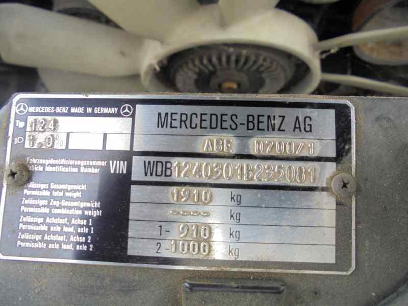 MERCEDES CLASE E (W124) BERLINA E 300 (124.030)  3.0 CAT (180 CV) |   09.86 - ..._img_4