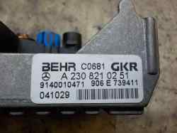 RESISTENCIA CALEFACCION MERCEDES CLASE E (W211) BERLINA E 350 (211.056)  3.5 V6 CAT (272 CV) |   10.04 - 12.09_mini_1