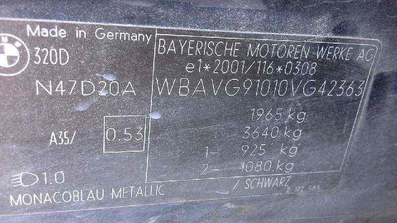 AIRBAG DELANTERO IZQUIERDO BMW SERIE 3 BERLINA (E90) 320d  2.0 Turbodiesel CAT (177 CV) |   09.07 - 12.10_img_5