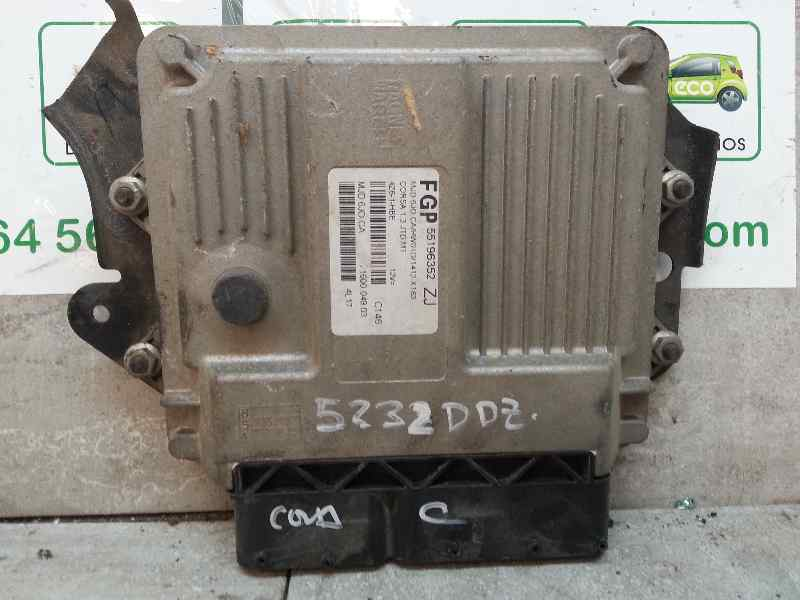 CENTRALITA MOTOR UCE OPEL CORSA C Blue Line  1.3 16V CDTI CAT (Z 13 DT / LN9) (69 CV) |   08.03 - 12.05_img_2