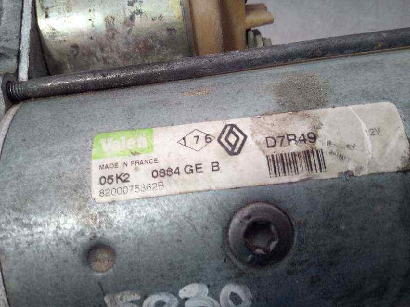 MOTOR ARRANQUE RENAULT LAGUNA II (BG0) Dynamique  1.9 dCi Diesel (120 CV) |   03.01 - 12.05_img_1