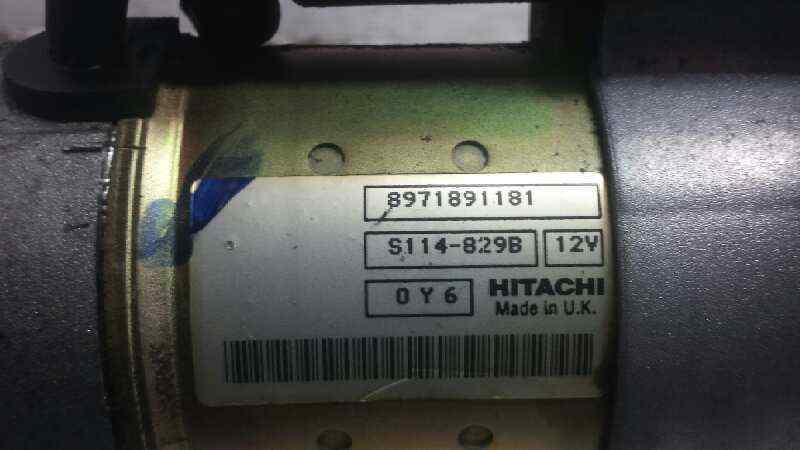 MOTOR ARRANQUE OPEL ASTRA GTC Cosmo  1.7 16V CDTI (101 CV)     12.04 - 12.07_img_3