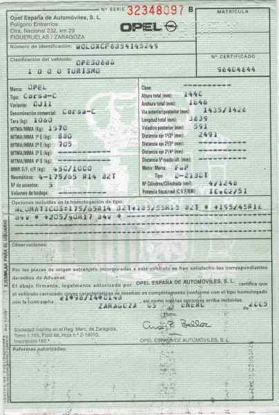 COMPRESOR AIRE ACONDICIONADO OPEL CORSA C Silverline  1.3 16V CDTI CAT (Z 13 DT / LN9) (69 CV) |   08.03 - 12.06_img_5
