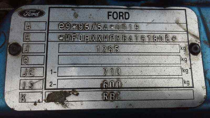 FARO IZQUIERDO FORD KA (CCQ) Básico  1.3 CAT (69 CV) |   09.96 - 12.08_img_4