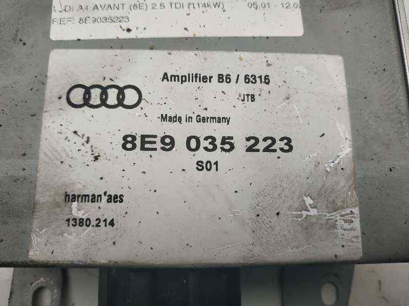 MODULO ELECTRONICO AUDI A4 AVANT (8E) 2.5 TDI (114kW)   (155 CV)     05.01 - 12.02_img_1