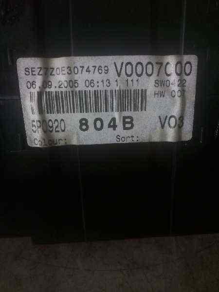 CUADRO INSTRUMENTOS SEAT ALTEA (5P1) Hot  2.0 TDI (140 CV) |   04.05 - 12.05_img_1
