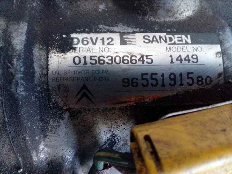 COMPRESOR AIRE ACONDICIONADO PEUGEOT 206 BERLINA XS-Line  1.4 HDi (68 CV)     09.01 - ..._img_3