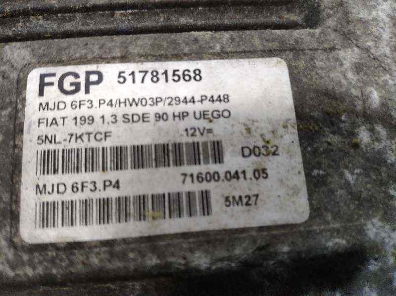 CENTRALITA MOTOR UCE FIAT GRANDE PUNTO (199) 1.3 16V Multijet Dynamic (66kW) (01.2007->)   (90 CV) |   01.07 - 12.12_img_0