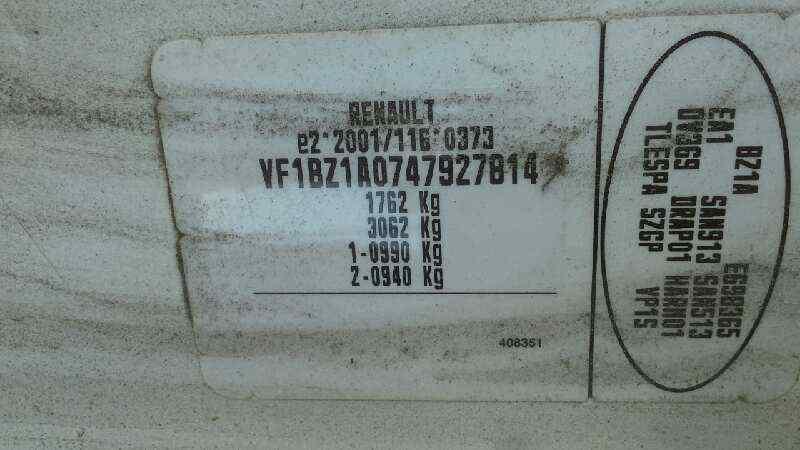 MOTOR ARRANQUE RENAULT MEGANE III BERLINA 5 P Expression  1.5 dCi Diesel CAT (K9K-830) (90 CV) |   0.08 - ..._img_4