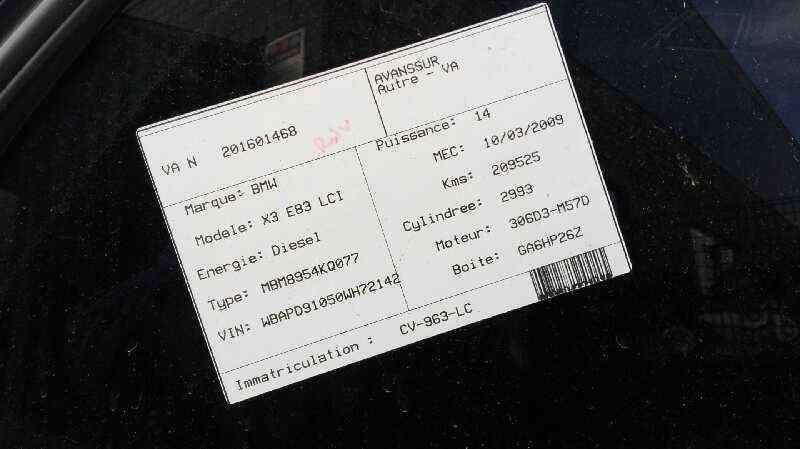 BMW SERIE X3 (E83) 3.0d   (218 CV) |   03.06 - 12.08_img_1