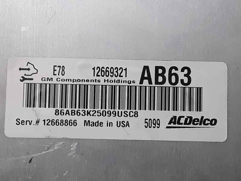 CENTRALITA MOTOR UCE OPEL MOKKA Excellence  1.4 16V Turbo CAT (A 14 NET / LUJ) (140 CV) |   06.13 - ..._img_2