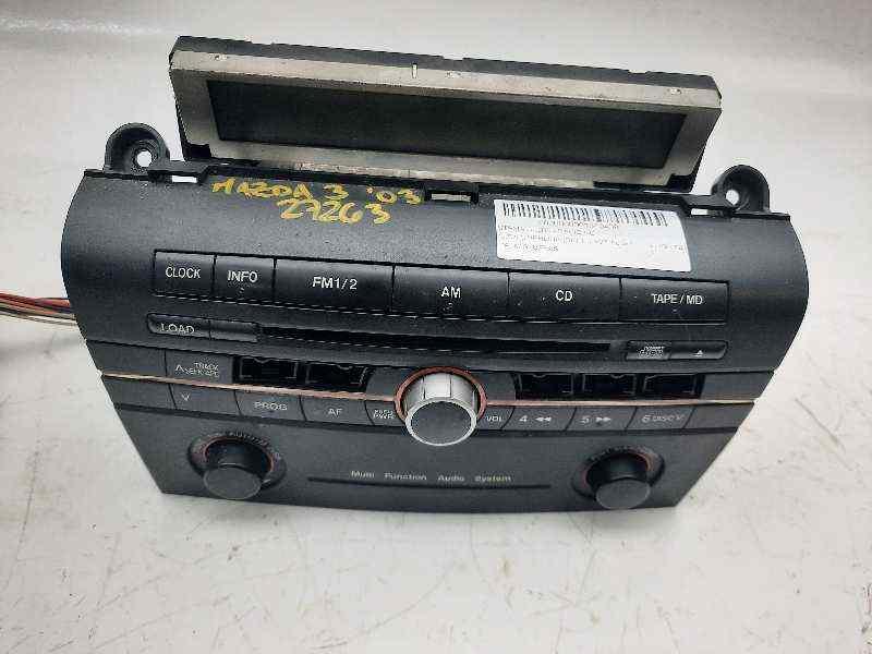 SISTEMA AUDIO / RADIO CD MAZDA 3 BERLINA (BK) 1.6 VVT Active   (105 CV) |   11.03 - 12.07_img_0