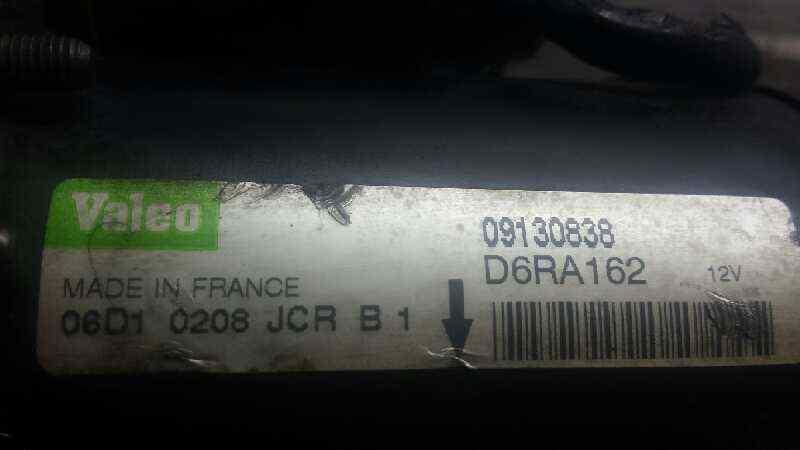 MOTOR ARRANQUE OPEL CORSA C Club  1.2 16V CAT (Z 12 XE / LW4) (75 CV) |   08.00 - 12.03_img_5