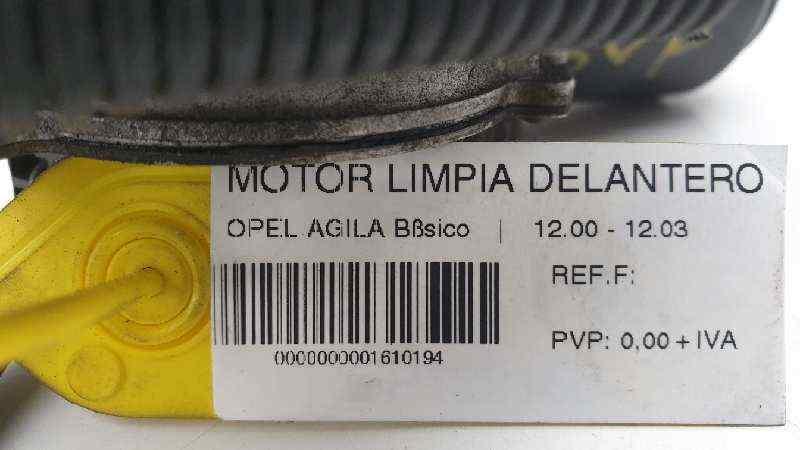 MOTOR LIMPIA DELANTERO OPEL AGILA Básico  1.0 12V CAT (Z 10 XE / LW3) (58 CV) |   12.00 - 12.03_img_1