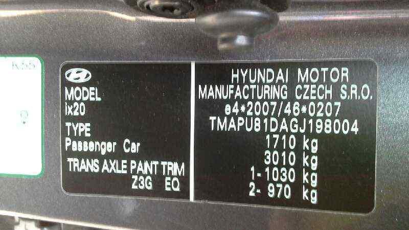 HYUNDAI IX20 GLS Comfort  1.6 CAT (125 CV)     0.10 - ..._img_2
