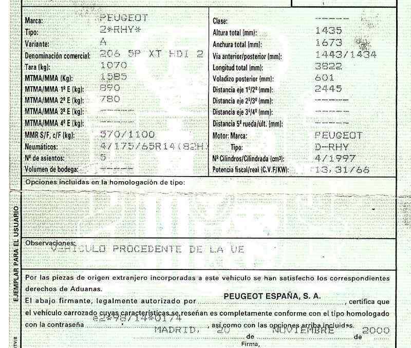 COMPRESOR AIRE ACONDICIONADO PEUGEOT 206 BERLINA XT  2.0 HDi CAT (90 CV)     12.99 - 12.05_img_5