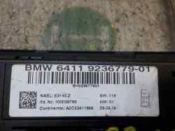 MANDO CALEFACCION /  AIRE ACONDICIONADO BMW SERIE 3 BERLINA (E90) 320d  2.0 16V Diesel (163 CV) |   12.04 - 12.07_mini_2