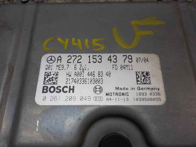 CENTRALITA MOTOR UCE MERCEDES CLASE E (W211) BERLINA E 350 (211.056)  3.5 V6 CAT (272 CV) |   10.04 - 12.09_img_1