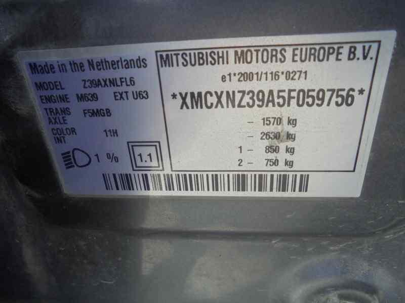 MITSUBISHI COLT BERLINA 5 (Z30A) 1.5 DI-D Instyle (D)   (95 CV)     03.04 - 12.08_img_1