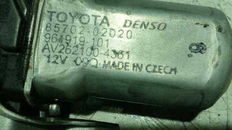 ELEVALUNAS DELANTERO IZQUIERDO TOYOTA AURIS Active  1.4 Turbodiesel CAT (90 CV) |   09.12 - 12.15_img_4