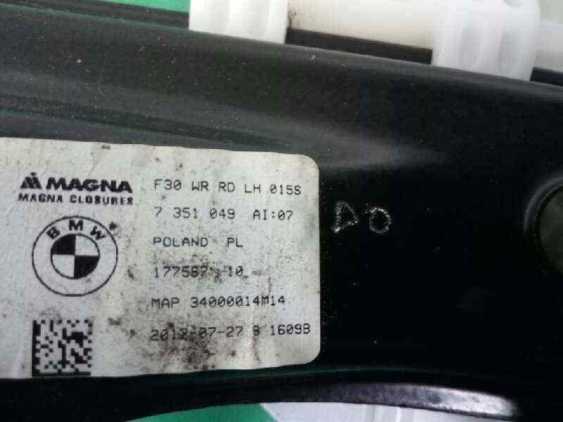 ELEVALUNAS TRASERO IZQUIERDO BMW BAUREIHE 3 TOURING  (F31) 318d  2.0 16V Turbodiesel (150 CV)     0.15 - ..._img_2